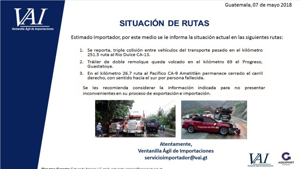 Situacion de Rutas 07_05_2018