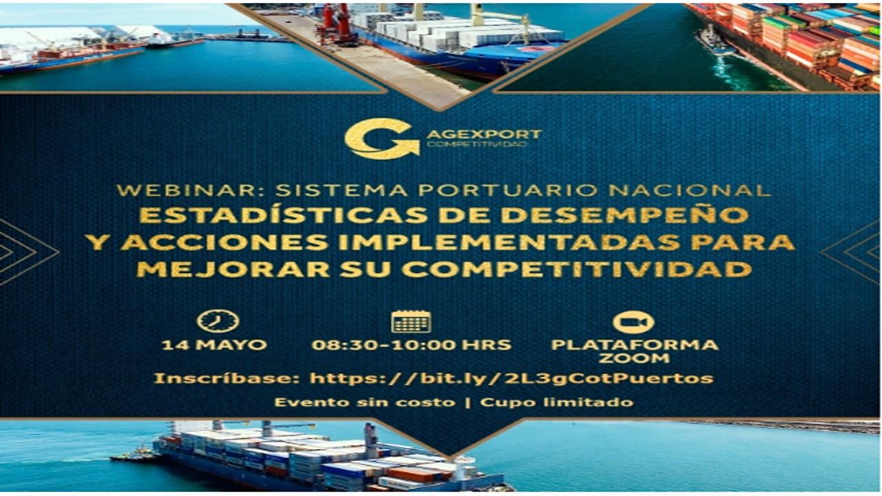 Webinar Gratuito Sistema Portuario Nacional